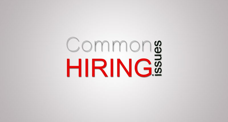 common-hiring-issues